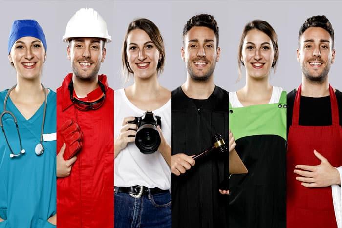 carreira e profissão maiores salarios corpo